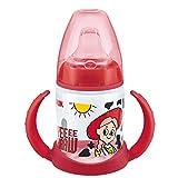NUK 10215220 Disney Winnie First Choice Trinklernflasche aus PP 150ml, mit Soft-Trinktülle aus...